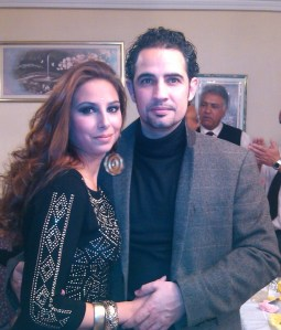 Israel and his wife Paqui. [Photo provided by Israel]