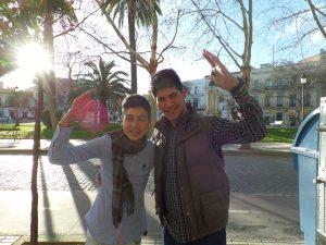 Miguelangel y Jose. [Photo by MAGNETO]